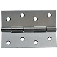 Wickes Butt Hinge Zinc Plated 102mm 3 Pack