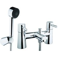 Wickes Asmara Bath Shower Mixer Chrome