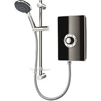 Triton Style 8.5kw Electric Shower Black Gloss Effect