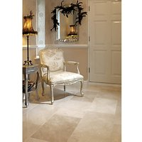 Wickes Champagne Brushed Marble Wall & Floor Tile 610 x 406mm