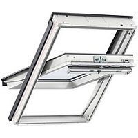 VELUX White Painted Centre Pivot Roof Window - 550 x 780mm