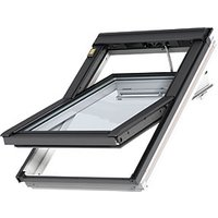 VELUX INTEGRA White Painted Electric Centre Pivot Roof Window - 940 x 1400mm