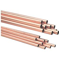 Wickes Copper Tube 15mm x 2m Pack 10