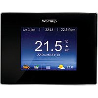 Warmup 4IE Wifi Onyx Black Underfloor Heating Thermostat