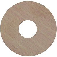 Wickes PVC Pipe Surrounds Medium Wood Effect 4 Pack