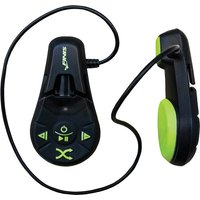 FINIS Duo 4GB Underwater MP3 Player with Bone Conduction Audio Transmission Colour BLACK / ACID GREEN