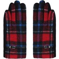Touch Screene Handschuhe mit Karo-Muster