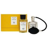 Acqua Di Parma Colonia Eau De Cologne Spray 180ml And Refillable Metal Vaporizer