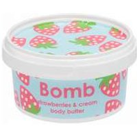 Bomb Cosmetics Body Butter Strawberries And Cream 200ml