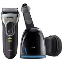 Braun Series Shavers Series 3 Proskin 3090cc Rechargeable Electric Shaver With Clean And Charge System