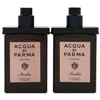 Acqua Di Parma Colonia Ambra Eau De Cologne Travel Spray Refill 2 X 30ml