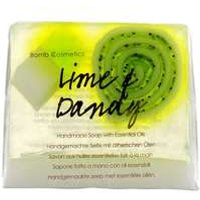 Bomb Cosmetics Soap Lime And Dandy Handmade Soap 4 X 100g