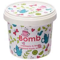Bomb Cosmetics Body Scrub And Polish Cranberry And Lime Body Scrub 400g