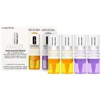 Clinique Moisturisers Fresh Pressed Clinical Daily And Overnight Boosters With Pure Vitamin C 10% + A (retinol)