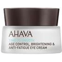 Ahava Age Control Time To Smooth Age Control Brightening And Anti-fatigue Eye Cream 15ml