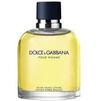 DOLCE and GABBANA Pour Homme Aftershave Lotion Splash 125ml