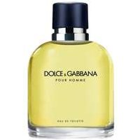 DOLCE and GABBANA Pour Homme EDT Spray 125ml