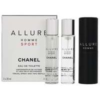 Chanel Allure Homme Sport EDT Refillable 3 x 20ml