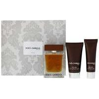 DOLCE and GABBANA The One for Men EDT Spray 100ml Gift Set  Aftershave Shower Gel