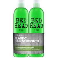 TIGI Bed Head Elasticate Tween Set: Elasticate Strengthening Shampoo 750ml & Conditioner 750ml - Haircare
