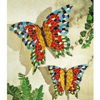 Wanddeko `Schmetterlinge`