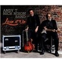 Andy T-Nick Nixon Band - Livin It Up (Music CD)