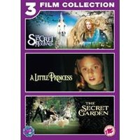 The Little Princess/ The Secret Garden/The Secret of Moonacre Triple Pack