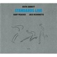 Keith Jarrett & Gary Peacock & Jack Dejohnette - Standards Live (Music CD)
