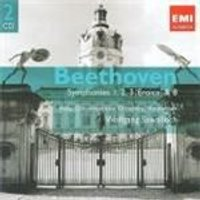 Beethoven: Symphonies Nos 1 - 3, 8 (Music CD)