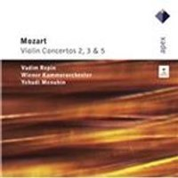Mozart: Violin Concertos Nos. 3, 2, 5 (Music CD)