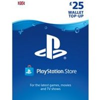 PlayStation Network Card - 25 (PS3 + PS4)