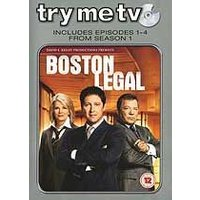 Try Me Tv: Boston Legal - Episodes 1-4 From Season 1