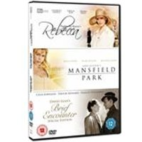 Classic Films Triple - Rebecca / Brief Encounter / Mansfield Park