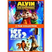 Alvin And The Chipmunks / Ice Age 2 Double Pack