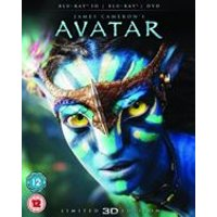 Avatar - Collectors Edition (Blu-ray 3D + Blu-ray + DVD)
