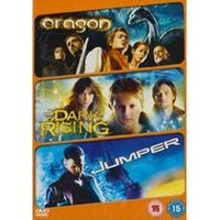Fantasy Adventure Triple - Eragon / The Dark Is Rising / Jumper