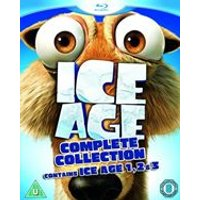 Ice Age 1-3 Collection (Blu-Ray)