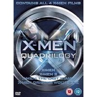 X-Men Quadrilogy - X-Men / X-Men 2 / X-Men: The Last Stand / X-Men Origins: Wolverine