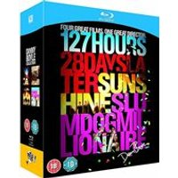 Danny Boyle Collection - Sunshine, 127 Hours, 28 Days Later and Slumdog Millionaire. (Blu-Ray)