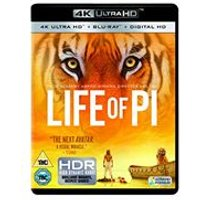 Life of Pi [4K Ultra HD Blu-ray + Digital Copy]