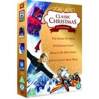 Classic Christmas Box Set (Christmas Carol, Miracle on 34th Street (1994), The Sound of Music, Chitty Chitty Bang Bang)