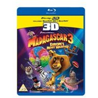 Madagascar 3 - Europes Most Wanted (3D Blu-ray)