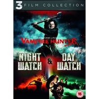 Abraham Lincoln Vampire Hunter / Night Watch / Day Watch Triple Pack