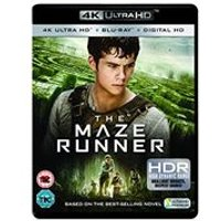 The Maze Runner [4K Ultra HD Blu-ray + Digital Copy]