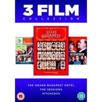 The Grand Budapest Hotel / The Sessions / Hitchcock - 3 Film Collection
