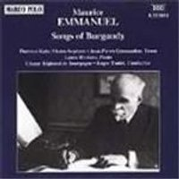 Emmanuel: Songs of Burgundy