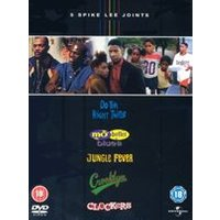 5 Spike Lee Joints Box Set (Clockers, Do The Right Thing, Jungle Fever, Crooklyn, Mo Better Blues)