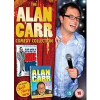 The Alan Carr Comedy Collection (2 DVDs & 1 CD)