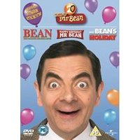 20 Years of Mr. Bean DVD Boxset [Bean: The Ultimate Disaster Movie/Happy Birthday Mr. Bean/ Mr. Beans Holiday]