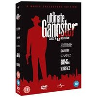 The Ultimate Gangsters: American Gangster / Carlitos Way / Casino / Public Enemies / Scarface (5 Disc Boxset)